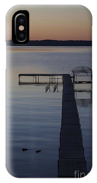 Empty Pier IPhone Case