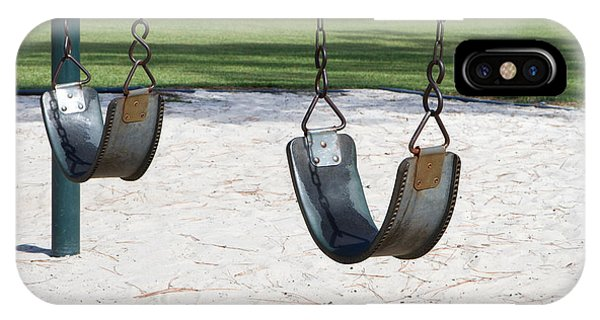 Empty Swings IPhone Case