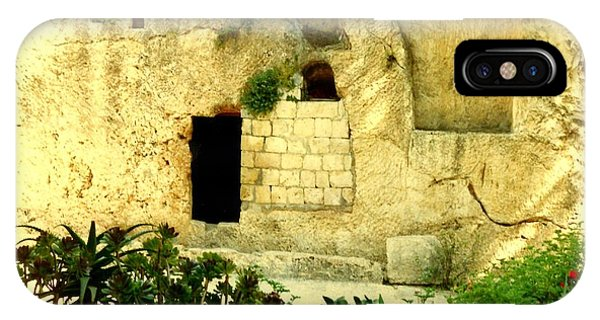 Empty Tomb Of Jesus IPhone Case