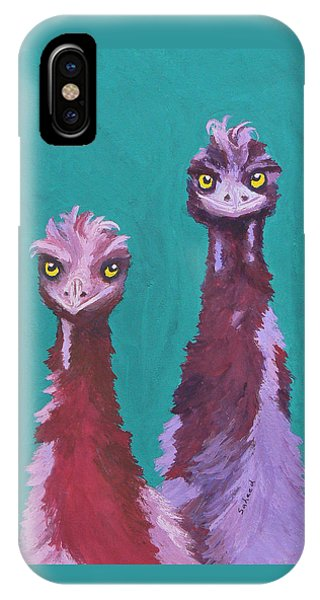 Emu Watch IPhone Case