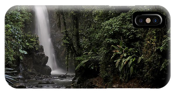 Encantada Waterfall Costa Rica IPhone Case