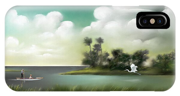 Enchanted Florida IPhone Case