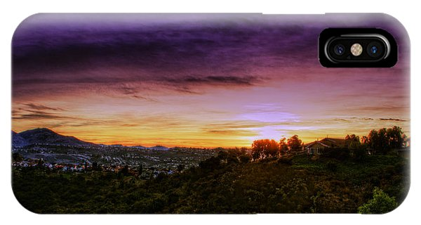 Enchanted Morning In The Land Of Na IPhone Case
