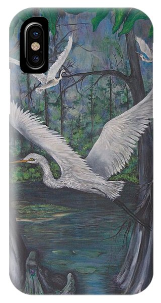 Enchanted Swamp IPhone Case
