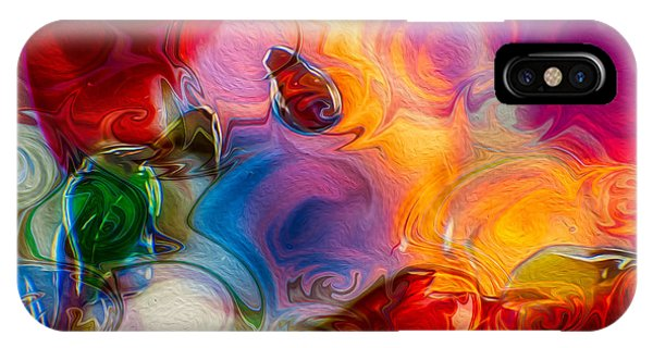 Enchanting Flames IPhone Case
