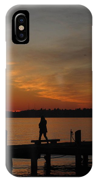 End Of A Day IPhone Case