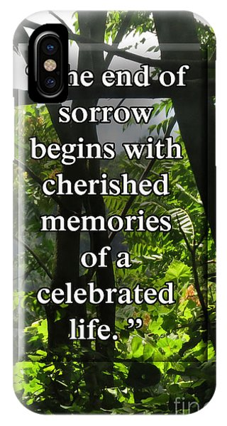 End Of Sorrow IPhone Case