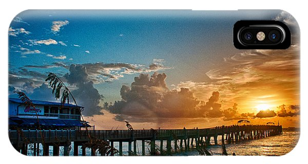 End Of The Pier IPhone Case