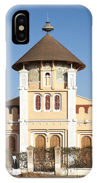 enda Mariam cathedral in asmara eritrea IPhone Case