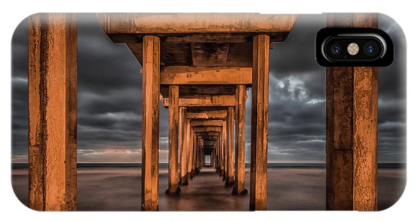 Pier iPhone Case - Endless by Andreas Agazzi