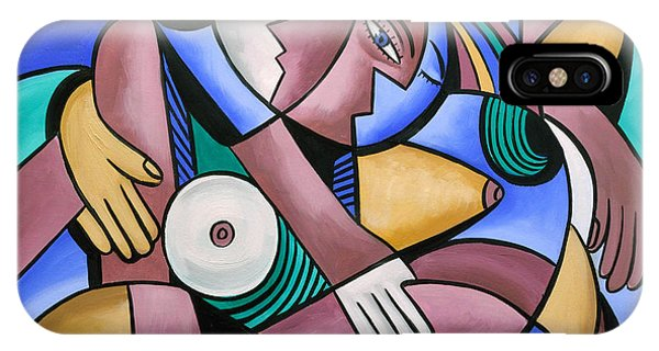 IPhone Case featuring the painting Endless Love by Anthony Falbo