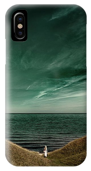 Swedish iPhone Case - Endless Sea by Kristoffer Jonsson