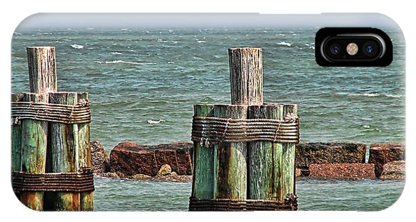 Endlessly Staring Out To Sea IPhone Case