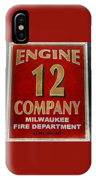 Engine 12 IPhone Case