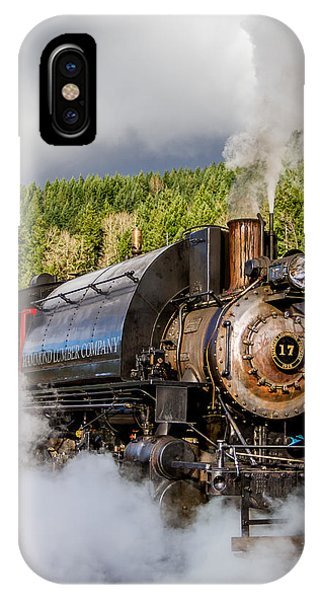 Engine 17 Steam Engine 1 IPhone Case