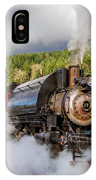 Engine 17 Steam Engine 1 IPhone Case