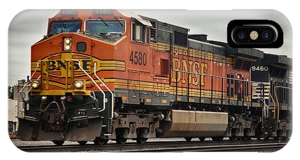 Engine Bnsf 4580 IPhone Case