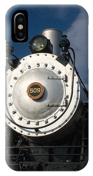 Crossville iPhone X Case - Engine Face Number 509 by Douglas Barnett