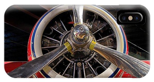 Engine Of Grumman G-73 Mallard IPhone Case