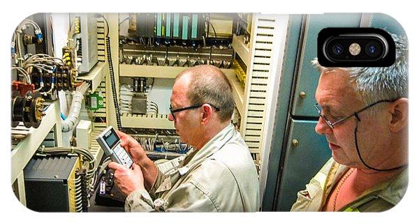 Engineering Control Room IPhone Case