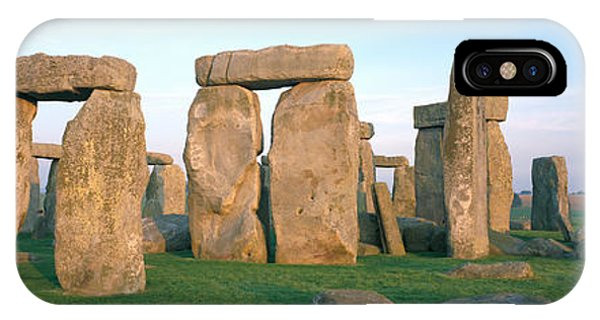 England, Wiltshire, Stonehenge IPhone Case