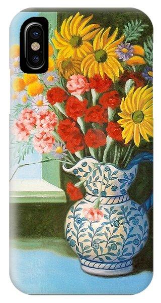 English Bouquet IPhone Case