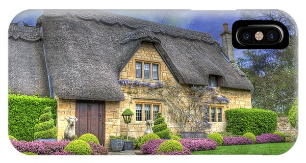 English Country Cottage IPhone Case