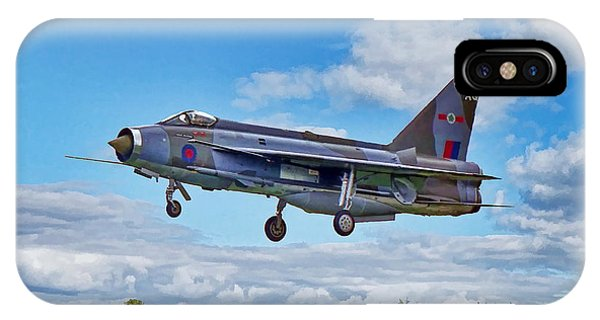 English Electric Lightning IPhone Case