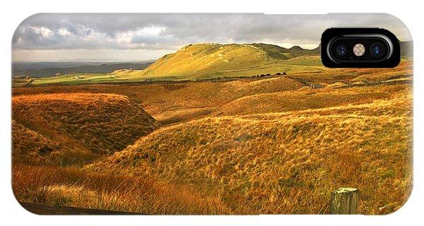 English Moorland Landscape IPhone Case