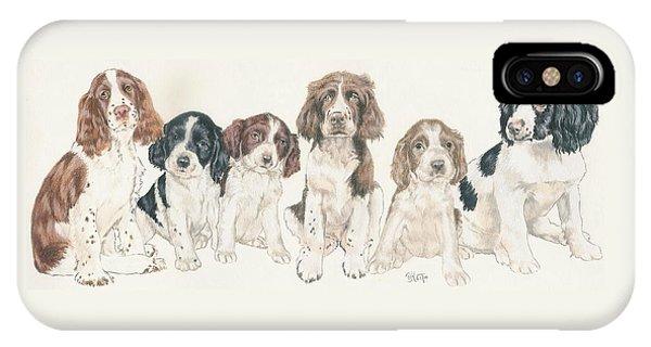English Springer Spaniel Puppies IPhone Case
