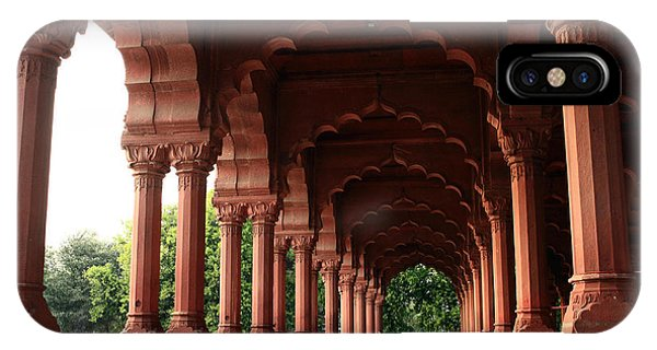 Engrailed Arches Red Fort - New Delhi IPhone Case