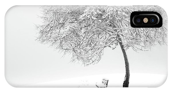Frost iPhone Case - Enjoy The Silence by Sherry Akrami