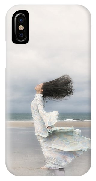Tidal iPhone Case - Enjoying The Wind by Joana Kruse