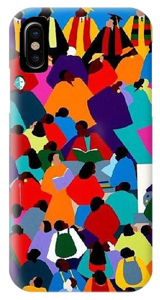 iPhone Case - Enlightenment Asu by Synthia SAINT JAMES