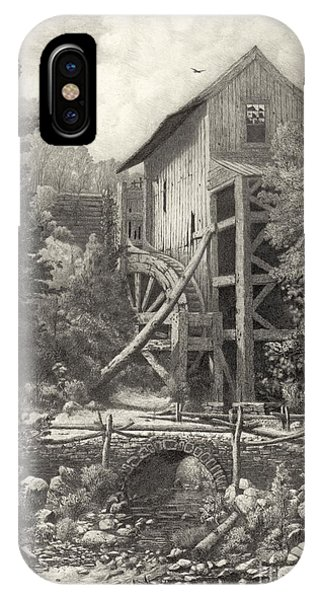 Ensinore Mill 1887 IPhone Case
