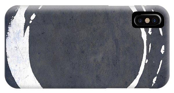 Enso No. 107 Blue IPhone Case