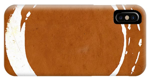 Enso No. 107 Orange IPhone Case