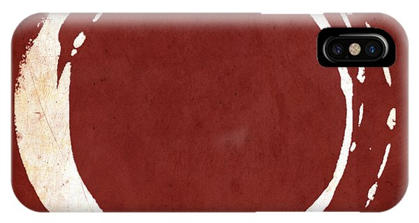 Enso No. 107 Red IPhone Case