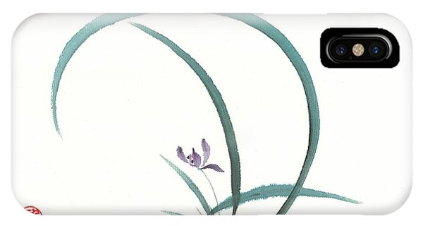 Enso Orchid IPhone Case