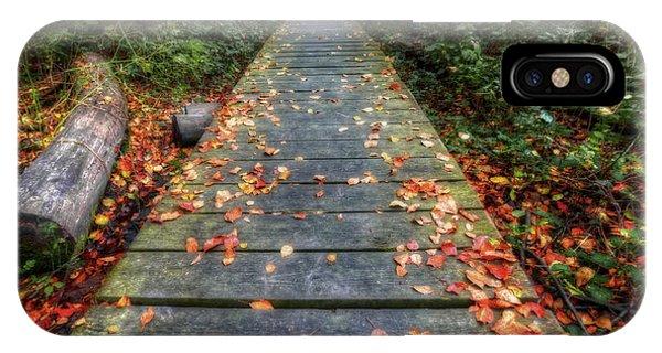The Nature Center iPhone Case - Enter The Woods - Retzer Nature Center - Waukesha by Jennifer Rondinelli Reilly - Fine Art Photography