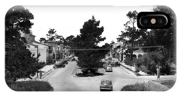 Entering Carmel By The Sea Calif. Circa 1945 IPhone Case