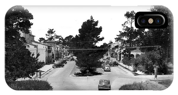 Entering Carmel By The Sea Calif. Circa 1945 IPhone Case