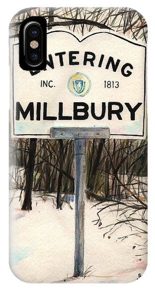 Entering Millbury Phone Case by Scott Nelson
