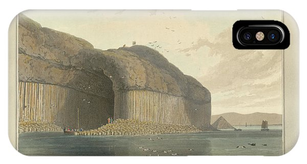 Entrance To Fingal's Cave IPhone Case
