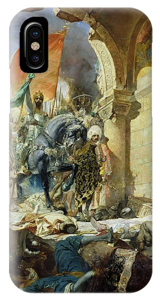 Entry Of The Turks Of Mohammed II Into Constantinople IPhone Case
