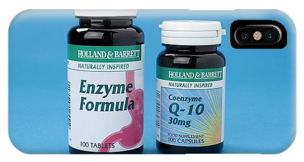 Enzyme Food Supplements IPhone Case