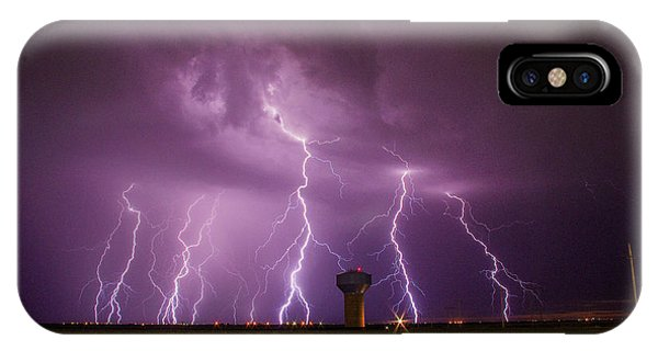 Epic Lightning IPhone Case