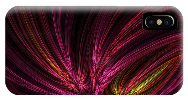 Violet iPhone Case - Equalized by Lourry Legarde