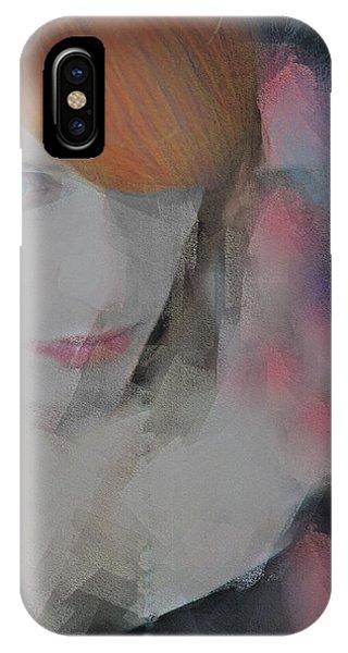 Equanimity Portrait IPhone Case