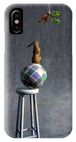 Cement iPhone Case - Equilibrium II by Cynthia Decker